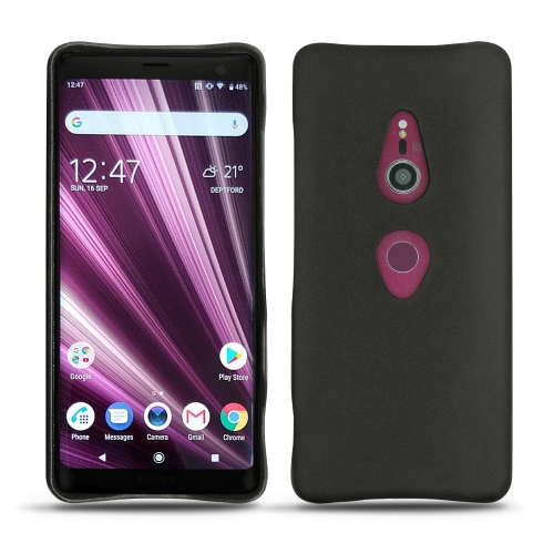 Sony Xperia XZ3 leather cover