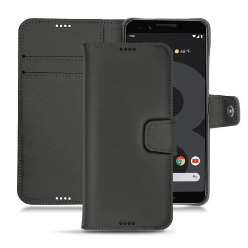 가죽 커버 Google Pixel 3 - Noir PU
