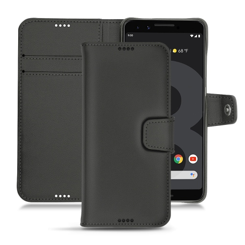 Funda de piel Google Pixel 3 - Noir PU