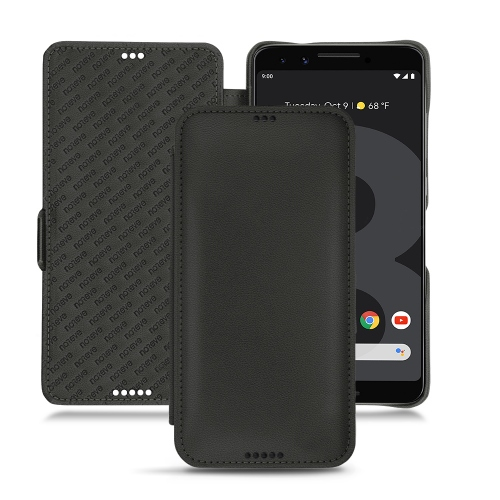 Housse cuir Google Pixel 3 XL - Noir PU