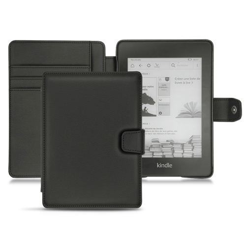Amazon Kindle Paperwhite (2018) leather case - Noir PU