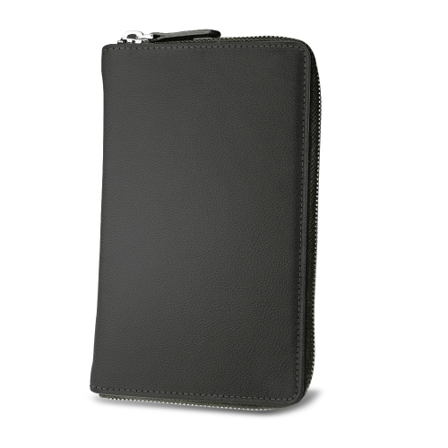 Funda billetera para smartphone - Noir PU