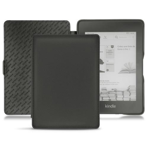 Housse cuir Amazon Kindle Paperwhite (2018) - Noir PU