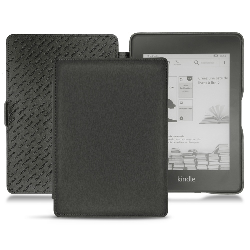 Lederschutzhülle Amazon Kindle Paperwhite (2018) - Noir PU