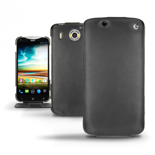 Acer Liquid S2  leather case - Noir ( Nappa - Black )