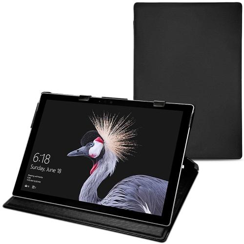 Housse cuir Microsoft Surface Pro 6 - Noir PU