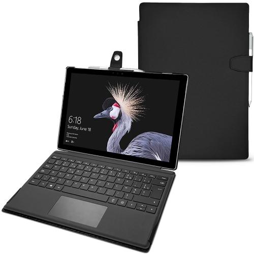 Funda de piel Microsoft Surface Pro 6 - Noir PU