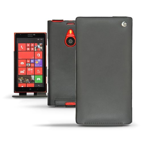 Nokia Lumia 1520  leather case - Noir ( Nappa - Black )