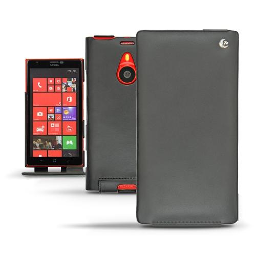 Housse cuir Nokia Lumia 1520  - Noir ( Nappa - Black )