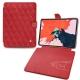 "Apple iPad Pro 11"" (2018) leather case - Rouge troupelenc - Couture"