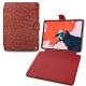 """Apple iPad Pro 11"""" (2018) leather case - Autruche ciliegia"""