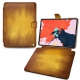 "Apple iPad Pro 11"" (2018) leather case - Doré Patine"