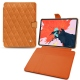 "Apple iPad Pro 12.9"" (2018) leather case - Mandarine vintage - Couture"