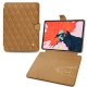 "Apple iPad Pro 12.9"" (2018) leather case - Castan esparciate - Couture"
