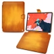 "Apple iPad Pro 12.9"" (2018) leather case - Orange Patine"