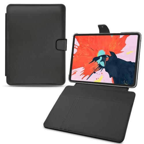 """가죽 커버 Apple iPad Pro 12.9"""" (2018) - Noir PU"""