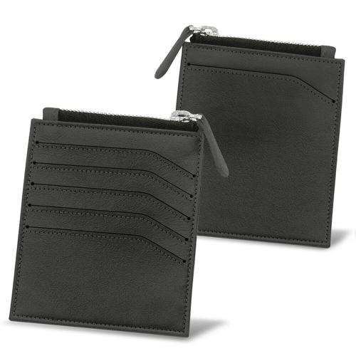 Portefeuille pour carte identité - Anti-RFID / NFC - Noir PU