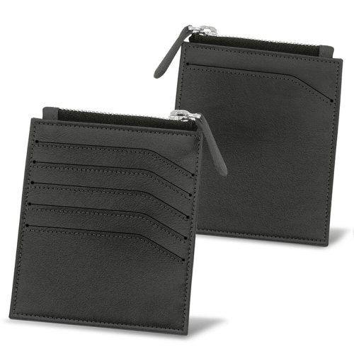 Wallet for idendity card - Anti-RFID / NFC - Noir PU