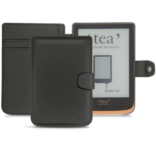 Custodia in pelle PocketBook Touch HD 3 - Tea Touch HD Plus - Noir PU