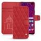Capa em pele Samsung Galaxy S10+ - Rouge troupelenc - Couture