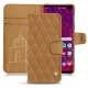 Samsung Galaxy S10+ leather case - Castan esparciate - Couture
