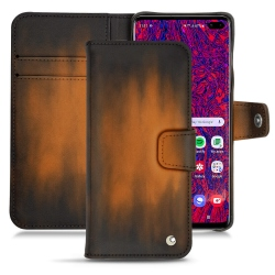 Custodia in pelle Samsung Galaxy S10+