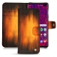 Samsung Galaxy S10+ leather case - Fauve Patine