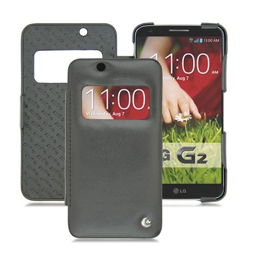 Housse cuir LG Optimus G2