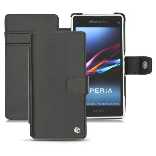 Housse cuir Sony Xperia Z1 Compact - Sony Xperia Z1f
