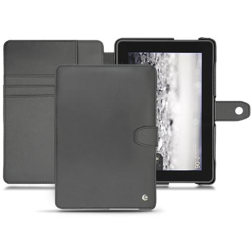 Amazon Kindle Fire HDX  leather case - Noir ( Nappa - Black )