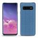 Coque cuir Samsung Galaxy S10 - Abaca ishia