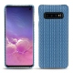 Custodia in pelle Samsung Galaxy S10 - Abaca ishia