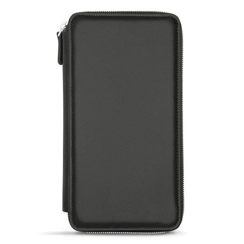 Organisateur de voyage - Anti-RFID / NFC - Noir PU