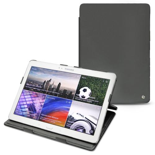 Housse cuir Samsung SM-T520 Galaxy Tab Pro 10.1  - Noir ( Nappa - Black )