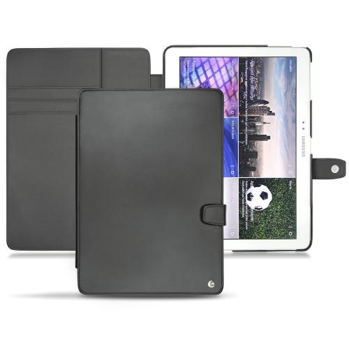 Samsung SM-T520 Galaxy Tab Pro 10.1 leather case - Noir ( Nappa - Black )