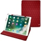 Apple iPad Air (2019) leather case - Rouge - Couture ( Nappa - Pantone 199C )