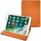 Apple iPad Air (2019) leather case - Orange - Couture ( Nappa - Pantone 1495U )