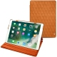 Apple iPad Air (2019) leather case - Mandarine vintage - Couture