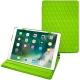 Lederschutzhülle Apple iPad Air (2019) - Vert fluo - Couture