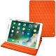 Apple iPad Air (2019) leather case - Orange fluo - Couture