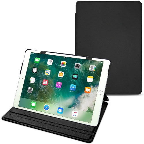 Apple iPad Air (2019) leather case - Noir PU