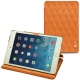 가죽 커버 Apple iPad mini 5 - Orange - Couture ( Nappa - Pantone 1495U )