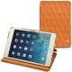Apple iPad mini 5 leather case - Orange - Couture ( Nappa - Pantone 1495U )