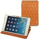 Apple iPad mini 5 leather case - Mandarine vintage - Couture