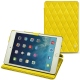 Apple iPad mini 5 leather case - Jaune fluo - Couture