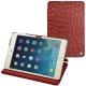 Apple iPad mini 5 leather case - Autruche ciliegia