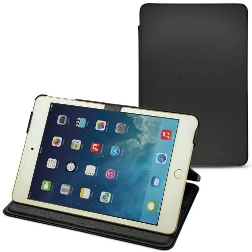 Apple iPad mini 5 leather case - Noir PU