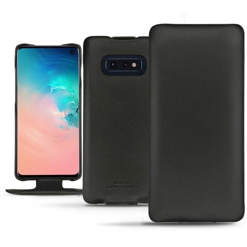 硬质真皮保护套 Samsung Galaxy S10E - Noir PU