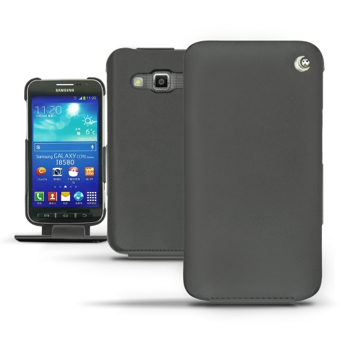 Housse cuir Samsung GT-I8580 Galaxy Core Advance