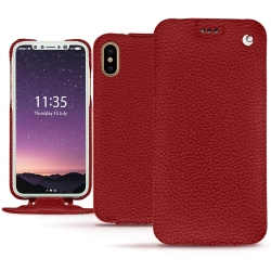 Funda de piel Apple iPhone Xs